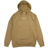 THE QUIET LIFE Embroidered Origin Hood QL37 SAND
