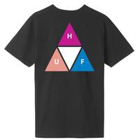 HUF Prism Triple Triangle S/S TEE ハフ 半袖 Tシャツ TS00908 メンズ / HUF176 BLACK