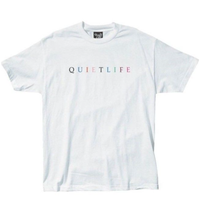 THE QUIET LIFE  RAINBOW TEEザクワエットライフ  QL27 WHITE