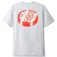 BUTTER GOODS Disk Logo Tee  バターグッズ  Tシャツ BG16 Ash Grey
