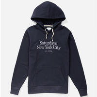 SATURDAYS NYC 2019FALL DITCH MILLER EMBROIDERD HOODIE メンズ /SAT45 Midnight