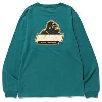 XLARGE L/S TEE OLD OG エクストララージ ロンT メンズ ロゴ 長袖 Tシャツ / XL24 DkGreen