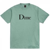 Dime Classic Logo T-Shirt ダイム メンズ Tシャツ クラッシク  ロゴTDime Mtl  ATLANTIC GREEN