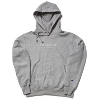 THE QUIET LIFE Serif Champ Reverse Weave Hood  ザ クワイエットライフ  リバースウィーブ / QL35  Grey