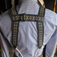 [Adjustable Costume]ノンエラスティックウェブブレイシーズ(サスペンダー) NON ELASTIC WEB BRACES ABC-021