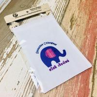 【タイ】ゾウさん巾着袋S TZK-06