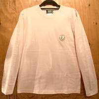 """FIFTY FIFTY Original """"Curry Chef"""" Patch Long Sleeve T-shirts  PINK"""