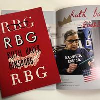 『RBG 最強の85才』パンフレット
