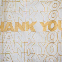 OPEN EDITIONS/THANK YOU TOTE(GOLD)FINE FOODS別注