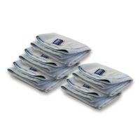 テンジ(TENZI)[プロ向けマイクロファイバータオル ブルー 5枚セット 38x38cm] : 日常使いだけでなく、ワックス磨きやクォーツ(石英)コーティングにもベストフィット