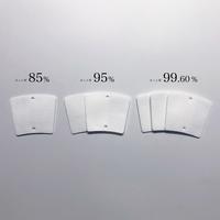 8回洗える交換フィルター5枚セット|カット率99.6%※を実現した高性能マスク FENICE(フェニーシェ)用