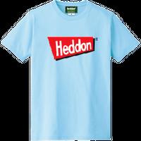 ヘドンファン待望の、ヘドン社のオフィシャルアイテム。完全限定!売切れ御免!【ヘドンTシャツ 2019年度版】サイズ M ライトブルー
