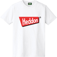 ヘドンファン待望の、ヘドン社のオフィシャルアイテム。完全限定!売切れ御免!【ヘドンTシャツ 2020年度版】サイズ XL ホワイト