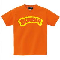 昔のボーマーロゴ!次回生産は未定!スミス社限定生産!【Bomber Tshirt  ボーマーTシャツ】L オレンジ