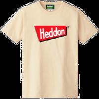 ヘドンファン待望の、ヘドン社のオフィシャルアイテム。完全限定!売切れ御免!【ヘドンTシャツ 2019年度版】サイズ L ナチュラル