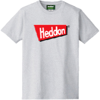 ヘドンファン待望の、ヘドン社のオフィシャルアイテム。完全限定!売切れ御免!【ヘドンTシャツ 2019年度版】サイズ M アッシュ