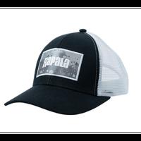 大好評のラパラ1500円キャップの2020年モデル!【ラパラ トラッカーキャップ Rapala TRUCKER CAP 】 スプラッシュ ブラック