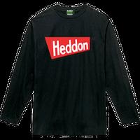 ヘドンファン待望の、ヘドン社のオフィシャルアイテム。完全限定!売切れ御免!【ヘドンロングTシャツ 2019年度版】サイズ L ブラック