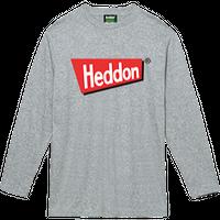 ヘドンファン待望の、ヘドン社のオフィシャルアイテム。完全限定!売切れ御免!【ヘドンロングTシャツ 2019年度版】サイズ XL 杢グレー