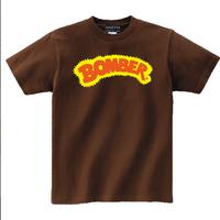 昔のボーマーロゴ!次回生産は未定!スミス社限定生産!【Bomber Tshirt  ボーマーTシャツ】M ダークブラウン