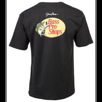 バスプロショップス ジョニーモリス ウッドカットロゴTシャツ サイズM ブラック