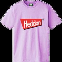 ヘドンファン待望の、ヘドン社のオフィシャルアイテム。完全限定!売切れ御免!【ヘドンTシャツ 2020年度版】サイズ L ライトパープル