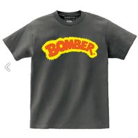 昔のボーマーロゴ!次回生産は未定!スミス社限定生産!【Bomber Tshirt  ボーマーTシャツ】M チャコール