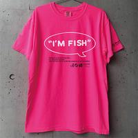 I'M FISH tee(Neon Pink)