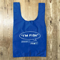 I'M FISH eco-bag(Blue)
