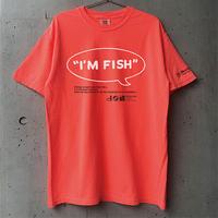 I'M FISH tee(Neon Orange)