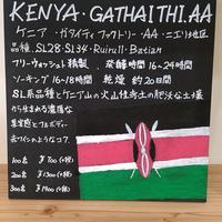 ケニア ガタイティファクトリー AA 100g