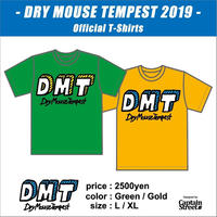 Dry Mouse Tempest 2019 Handwrite Logo Tee
