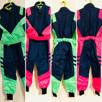 FlapRacingSports kids racing suit fluo21(ネイビーベース・蛍光色)