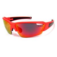 K.O.S  SportLightClearStripe NEON Orange/RED 偏光レンズ