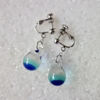 Grad-Drop Earring / blue(6901)