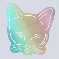 FLAU CAT Sticker