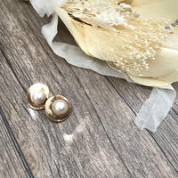 vintage pearl pierce