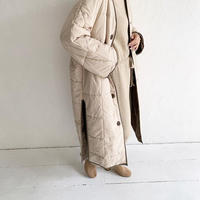 reversible quilting coat (2color) [OU19AW0093]