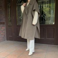 handmade poncho coat (3color))[OU20AW520]