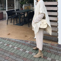 Cashmere 3way shawl cardigan