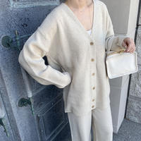 melange knit cardigan (2color)[TOP20AW549]