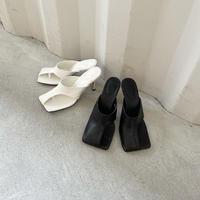 asymmetry design sandal (2color)[SHO21SS711]