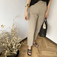 earth color denim pants  [BT20SS370]