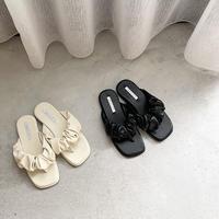 volume thong sandal (2color)