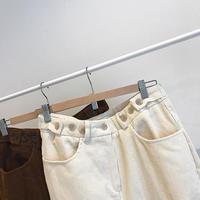 corduroy design pants (2color)