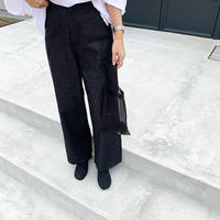black denim pants  [BT19SS0079]