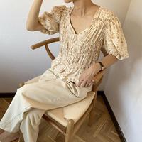 flower blouse [TOP20SS435]