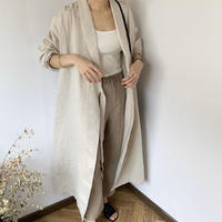 cache-coeur linen gown (2color) [OU20SS369]