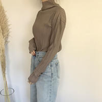 soft high neck tops (3color)   [TOP19AW0173]