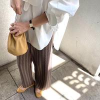 jaguard knit  pants [TOP21SS758]
